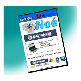 Pack logiciel de navigation + lecteur USB pour cartographie Navionics