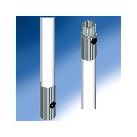 Rallonge d'antenne fibre de verre diamètre 28mm longueur 50cm