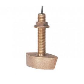 Sonde traversante bronze quadri-faisceaux + température