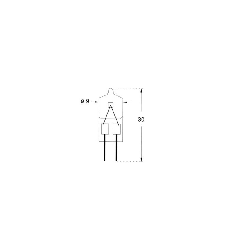 AMPOULE HALOGENE G4 12V 10W