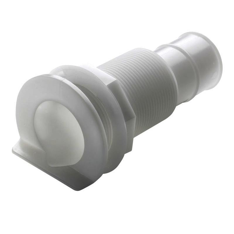 """Passe-coque avec bride en L, pour tuyau à˜ 25mm (1"""")"""