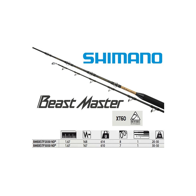 Canne de traine Beastmaster BX Standup