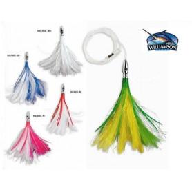 Kit de 5 leurres bonite Flash Feather Williamson