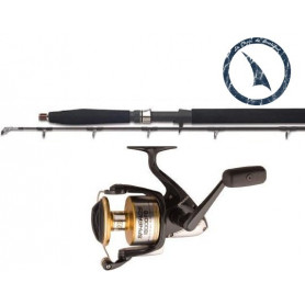 Ensemble Canne et Moulinet Jigging Shimano