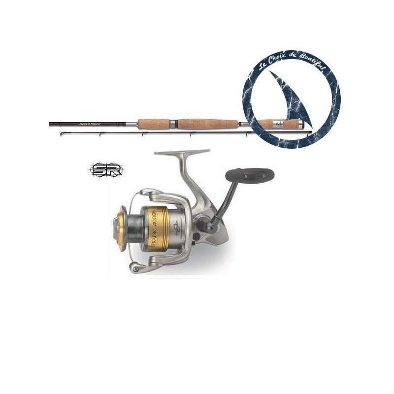 Ensemble pêche au bar - Speedmaster 270 MH Stradic 4000 FI