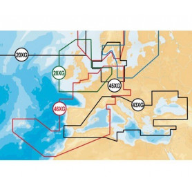 Carte Navionics Gold XL9 - Format SD