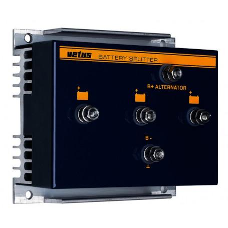 Repartiteur de charge, 125 Amp, pour 2 groupe de batterie
