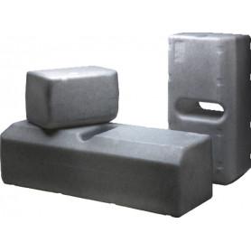 Réservoir sanitaire 61 l (kit d'installation exclus)