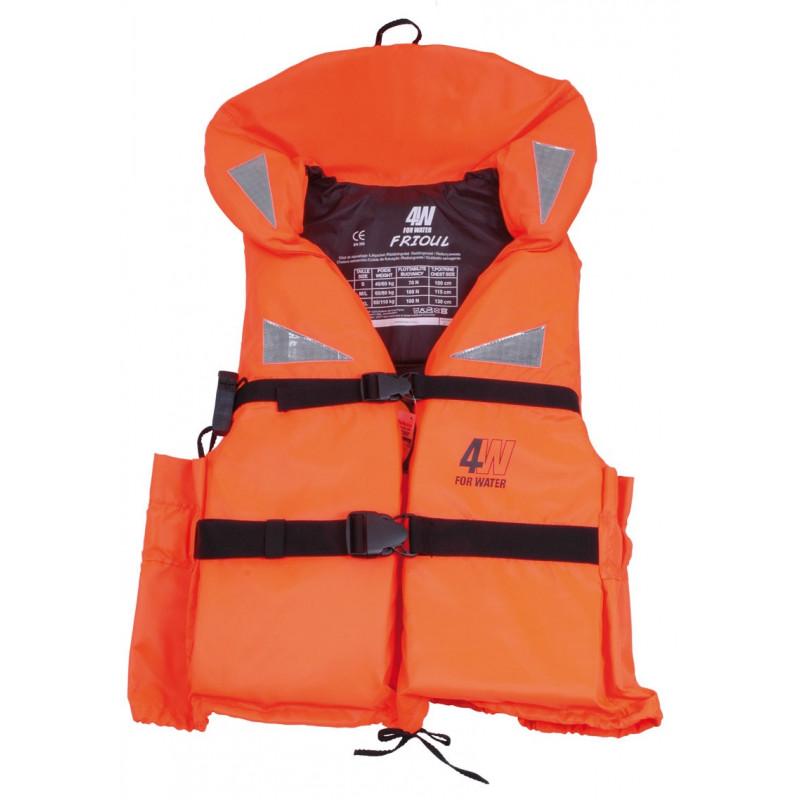 gilet de sauvetage 4 water adulte frioul 100 n gilet de sauvetage pour bateaux et plaisance. Black Bedroom Furniture Sets. Home Design Ideas