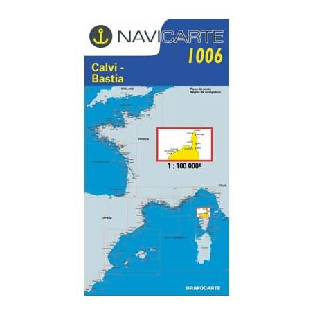 Navicarte Corse Nord 1006