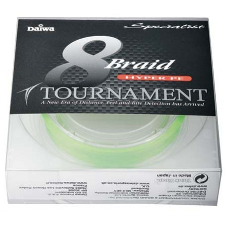 Tresse Tournament 8 Braid High Visibility - Rockfishing