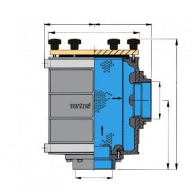 Type 1900, raccordement tuyaux 76 mm (G3)