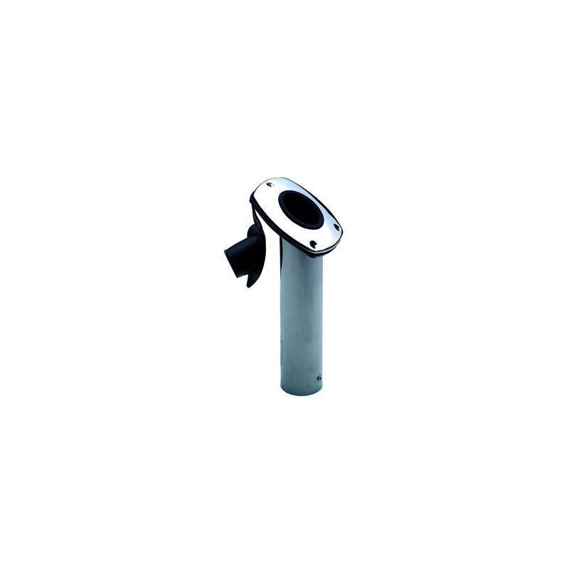 PORTE CANNE ENCASTR PLAST NOIR