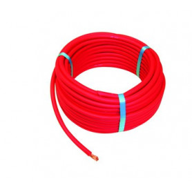 CABLE SOUPLE GB 50MM ROUGE