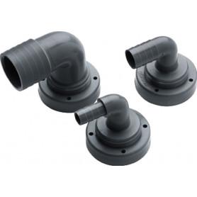 Raccord de tuyau, à˜ 19 mm, coudé, pour réservoirs rigides