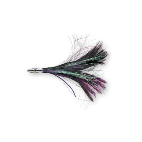 Flash feather Williamson monté sur bas de ligne