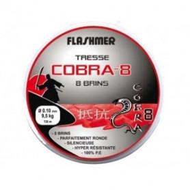 Cobra 8 Flashmer - Tresse 8 brins