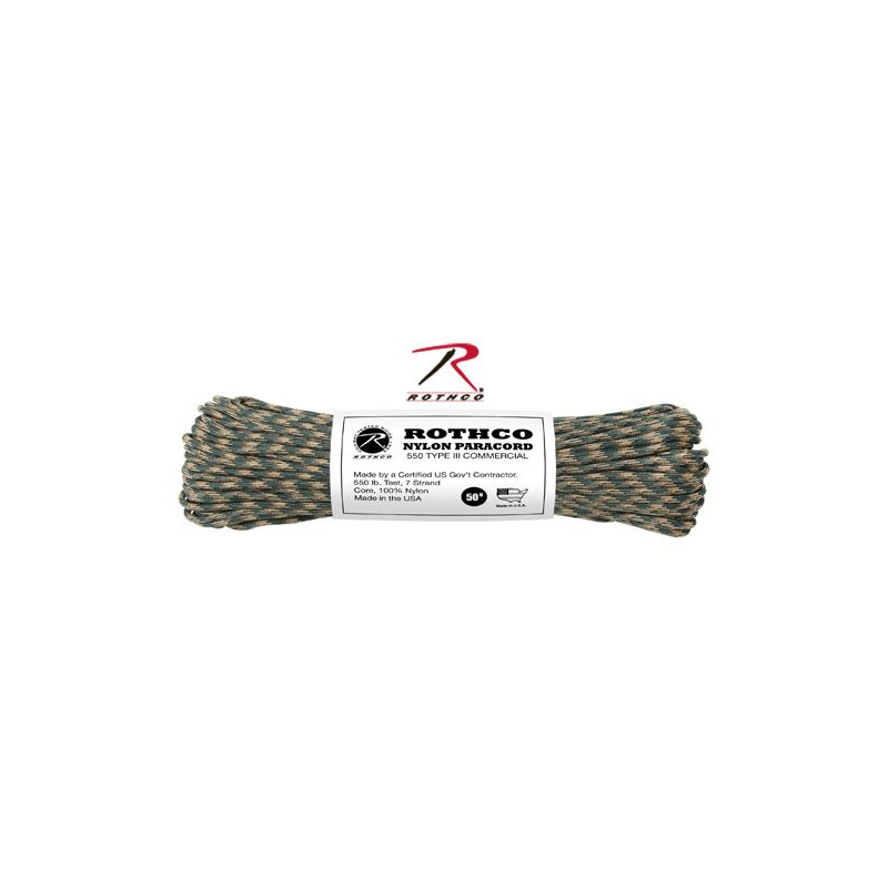 Paracord Nylon Camo