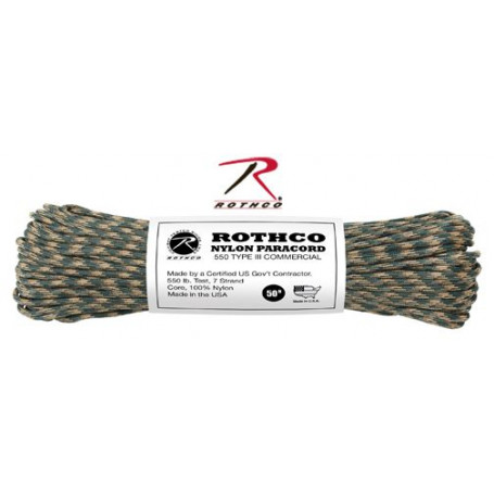 Paracord 550 Nylon Camo