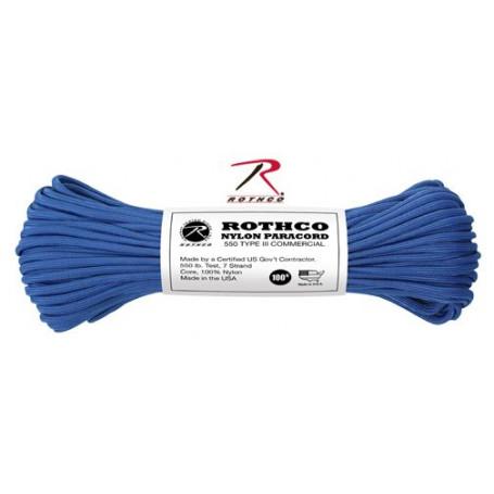 Paracord 550 Nylon Bleu Royal