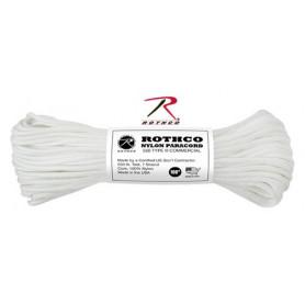 Paracord 550 Nylon Blanc