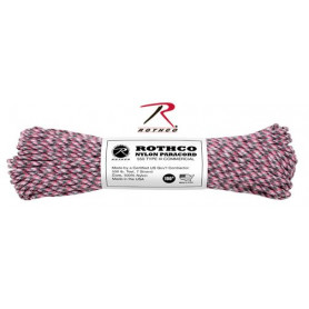 Paracord 550 Nylon Rose camouflage