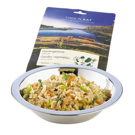 Risotto au soja et légumes - Plat lyophilisé
