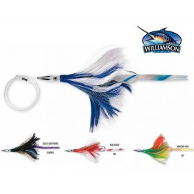 Leurre Diamond Jet Feather Williamson avec couenne