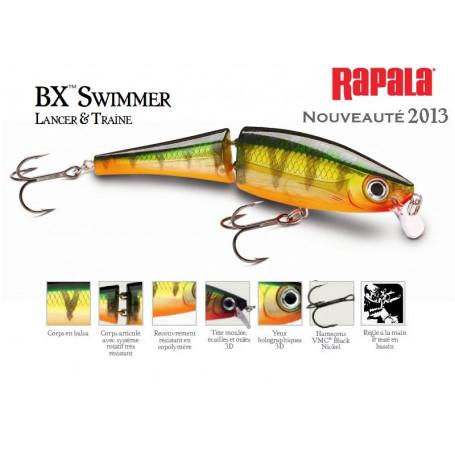 BX Swimmer Rapala - Lancer et Traine