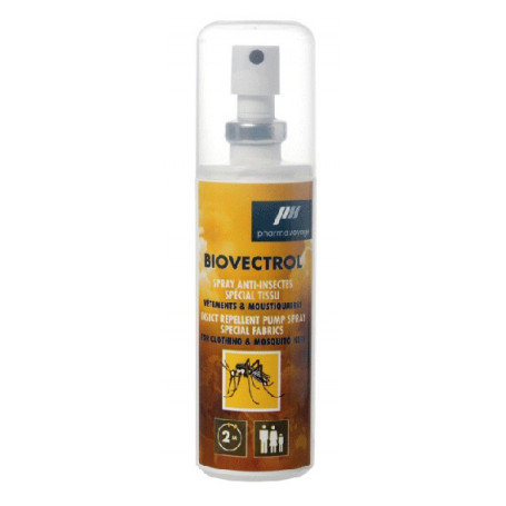 Biovectrol Tissu - répulsif insectes