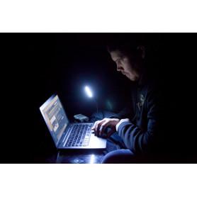 Lampe USB LUNA à LED liseuse