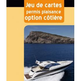 Jeu de cartes permis plaisance option côtière
