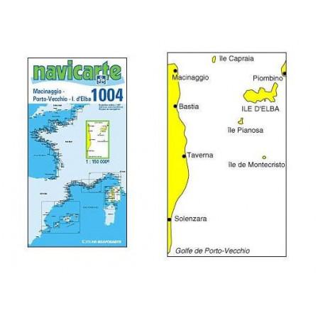 Navicarte Corse Est 1004