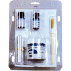 Kit de réparation pour pneumatique PVC