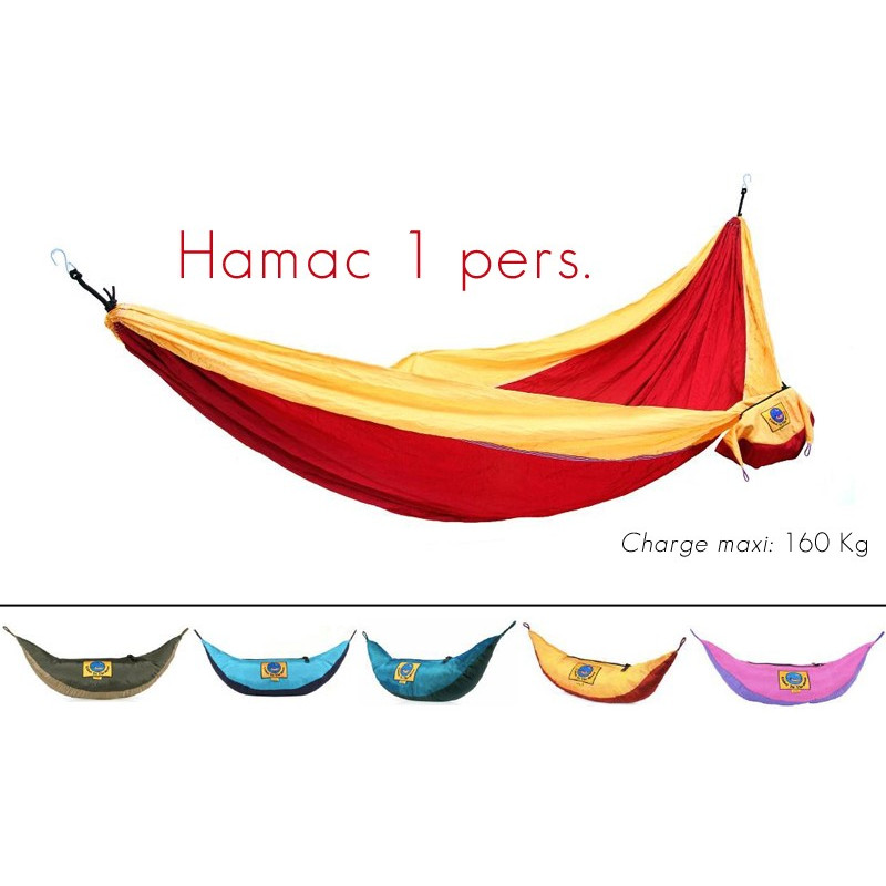 Hamac en toile de parachute - Simple