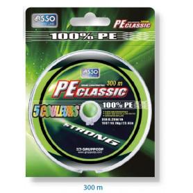 Tresse 5 couleurs PE - bobine 300m
