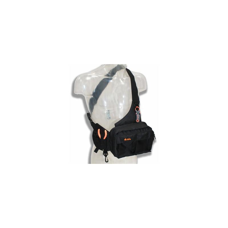 HPA- Minipack - Sac bandoulière Leurres / Egging - Noir